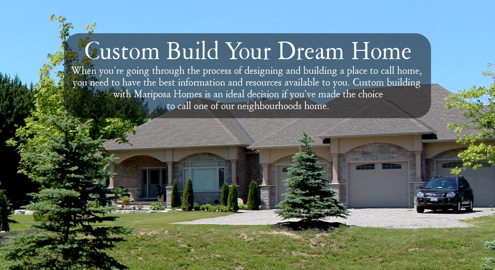 Mariposa Homes Your Home Your Way