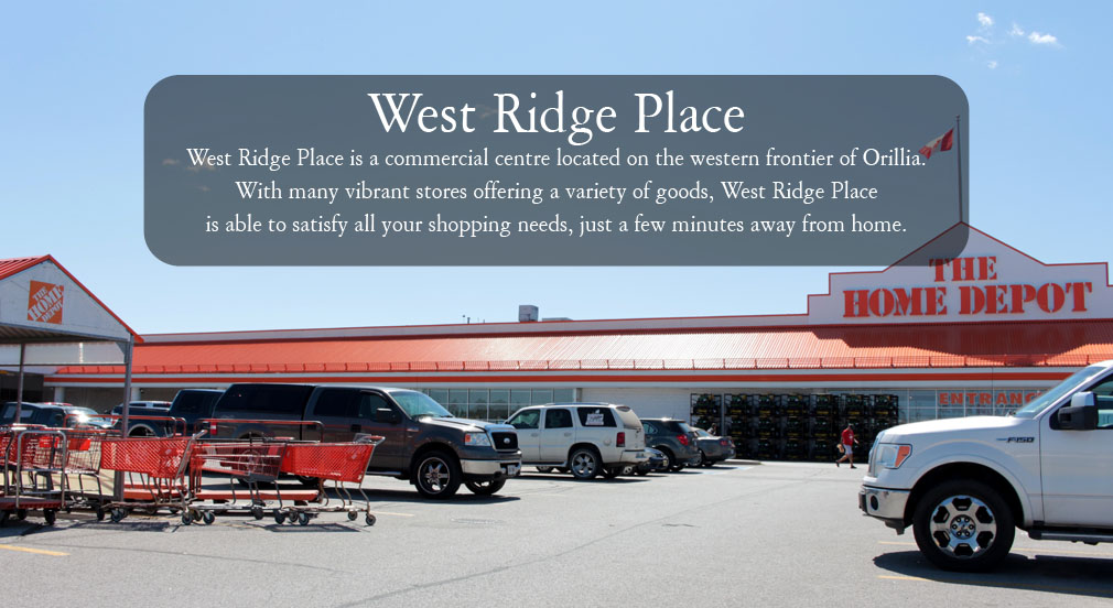 West Ridge Place Banner