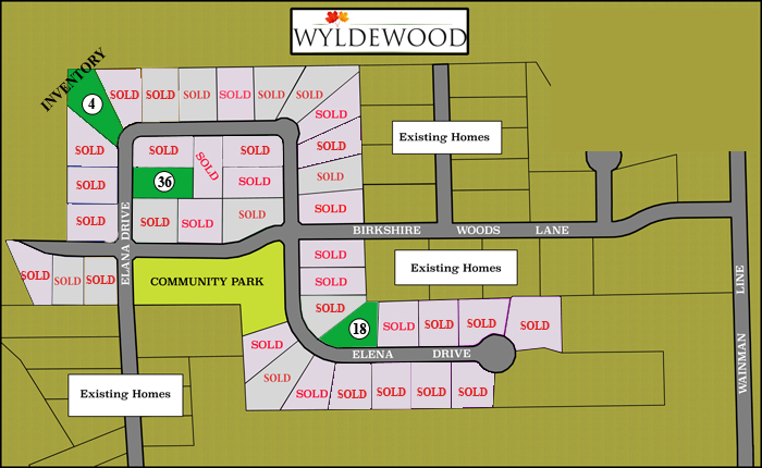 wyldewood plot map